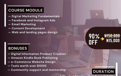 Ekiti Digital Summit Offers 90% Whopping Discount on Digital Marketing Training