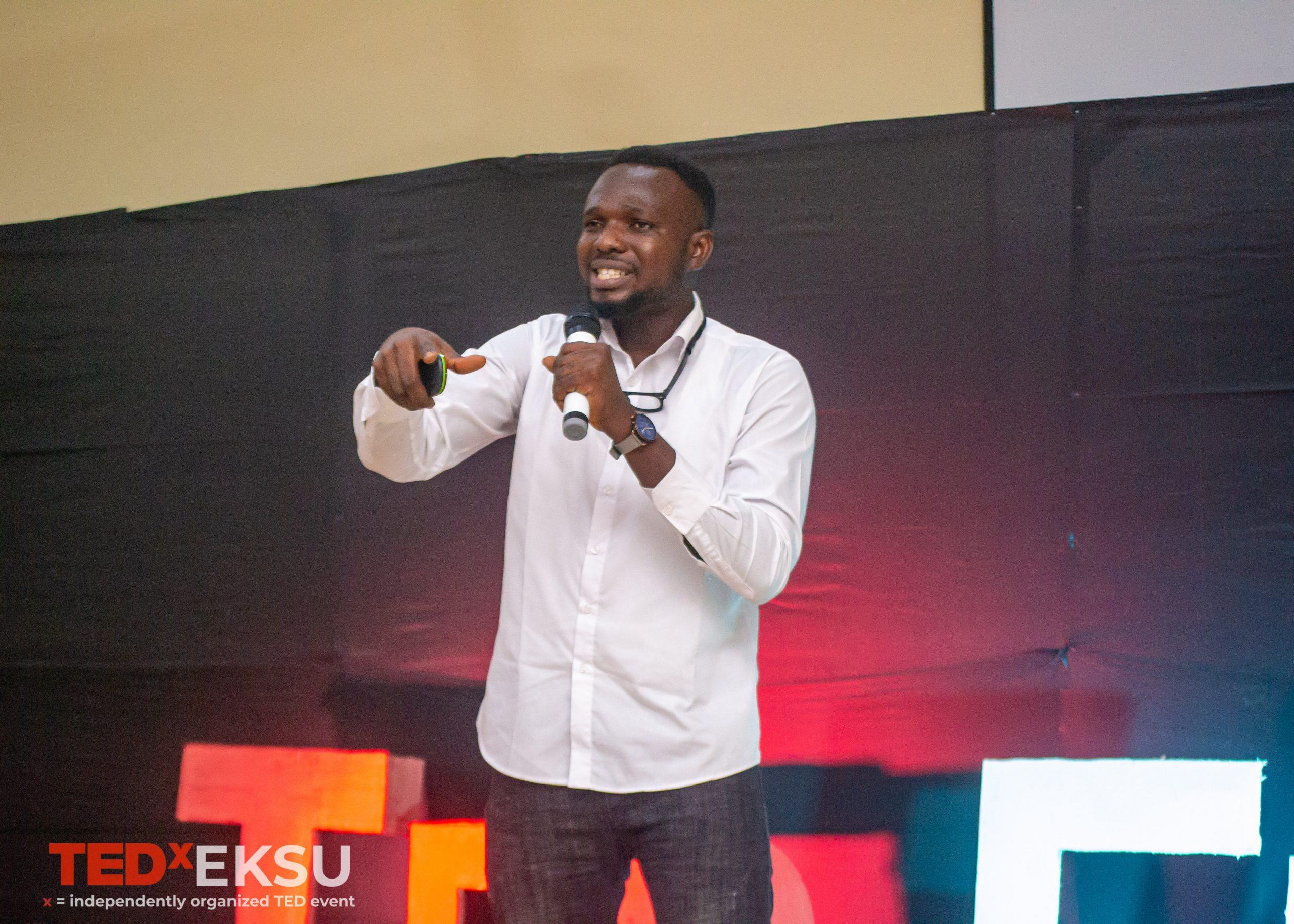 TEDxEKSU Sola Mathew TEDx Talk